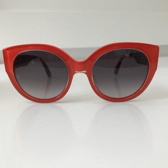 388dcb7051c3 TOMS Luisa sunglasses large plastic coral orange